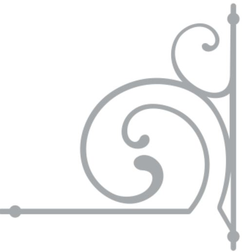 Wrought Iron 11  flourish min buy 3