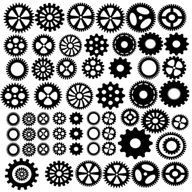 12 x 12 all there is is cogs cogs for everything memorymaze