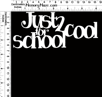 2 cool for school 150 x 65 min buy 3