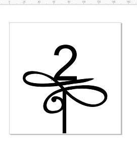 2  115-120 mm Acrylic cake topper   Available in black , white o