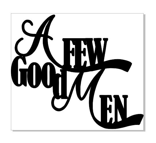 A FEW GOOD MEN 125 X 110 sold in 3\'s