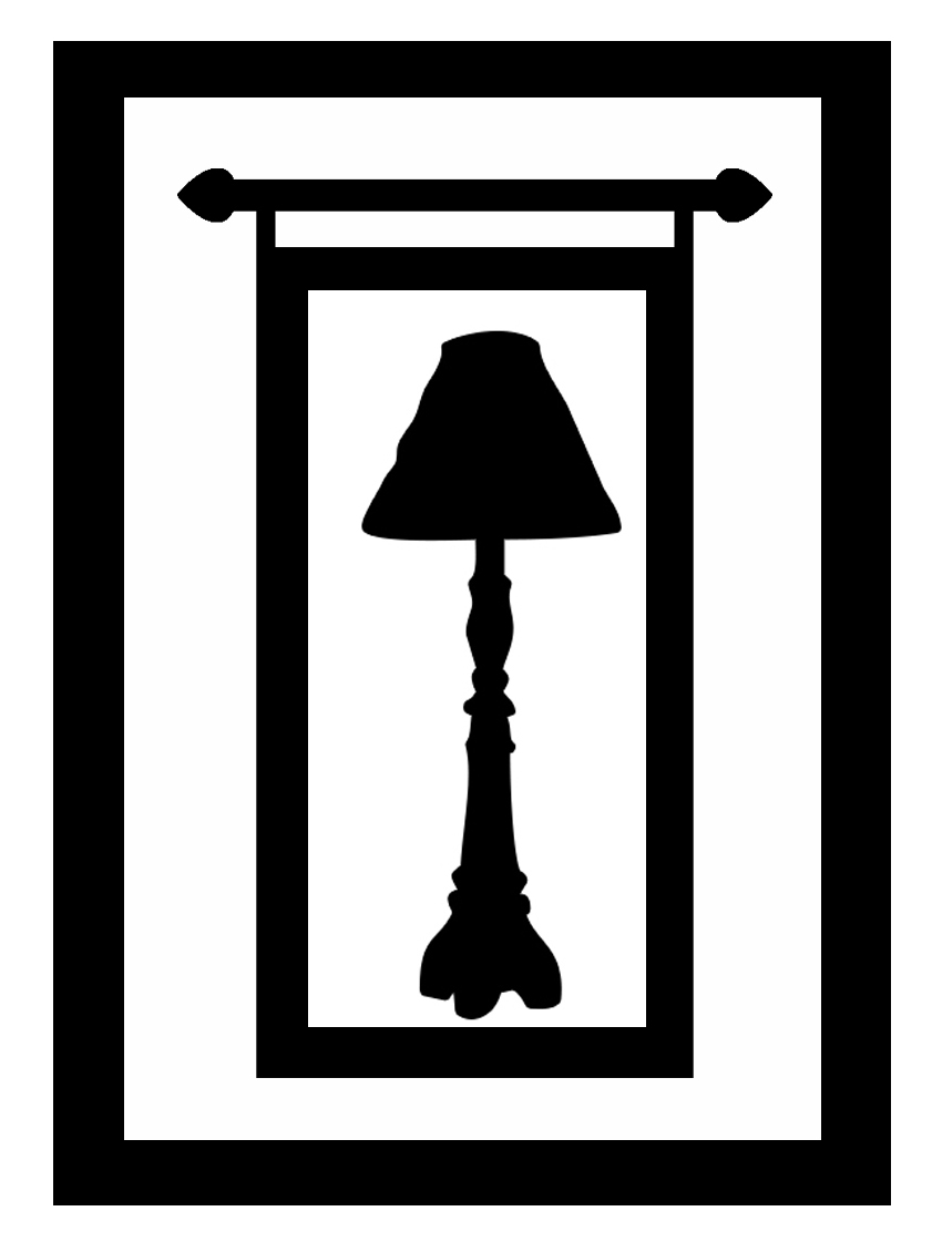 ATC lamp and banner frame