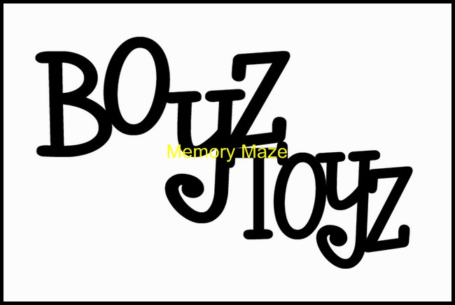 BOYZ TOYZ  100 x 40mm Min buy 3  will also be available in bulk