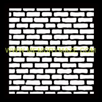Brick after brick small bricks  poly template  8x8 sold in 3\'s