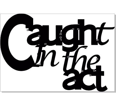 CAUGHT IN THE ACT 117 X 80  bulk pack 5