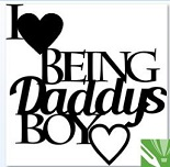 I love being daddys boy 99x122 min buy 3