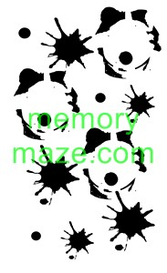 Stencil,mask or template J010  110X180   Min buy 3