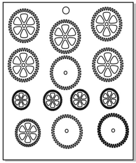 Micro cogs sold 3\'s