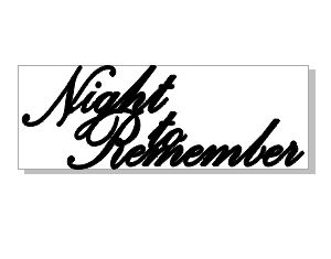 NIGHT TO REMEMBER 139 X 50 pack of 5