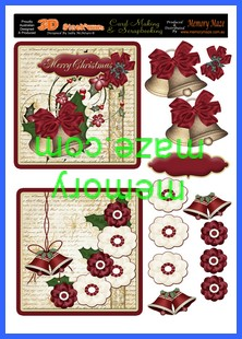 OCT 027 Christmas ,Merry Christmas