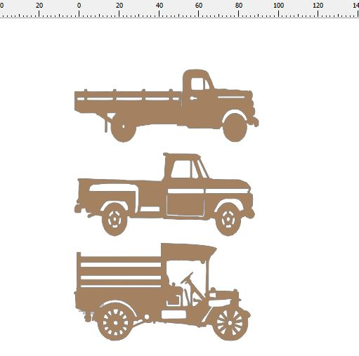 TRUCK  Old vintage trucks and farm vehicle card size min buy 3 1