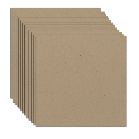 12 x 12 sheet chipboard 120 UM  pack 10