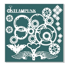 Steampunk grunge 200 x 200mm. Available other sizes. Min buy 3