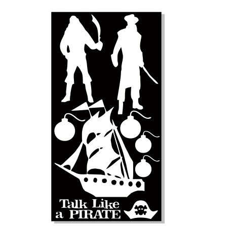 Talk like a pirate 100 x 190 sold in 3's