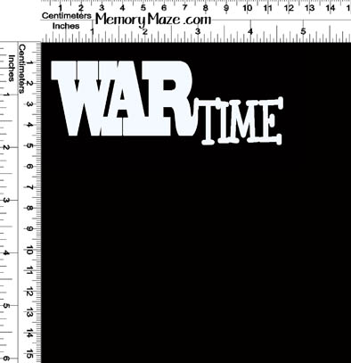 WAR TIME 147 X 53  min buy 3