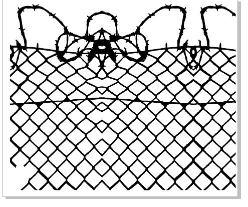 wire fence 200 x 280 mm min buy 3