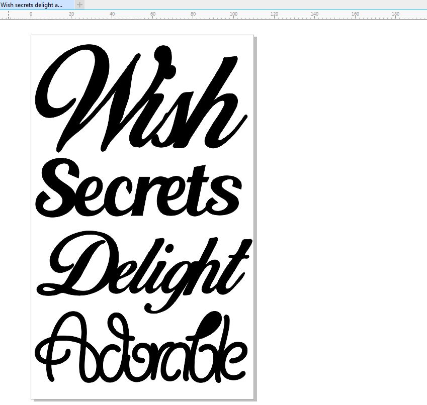 Wish secrets delight adorable 110 x 180 min buy 3