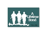 A life time bond , Anzac,soldier,army,military 110 x 180mm min b