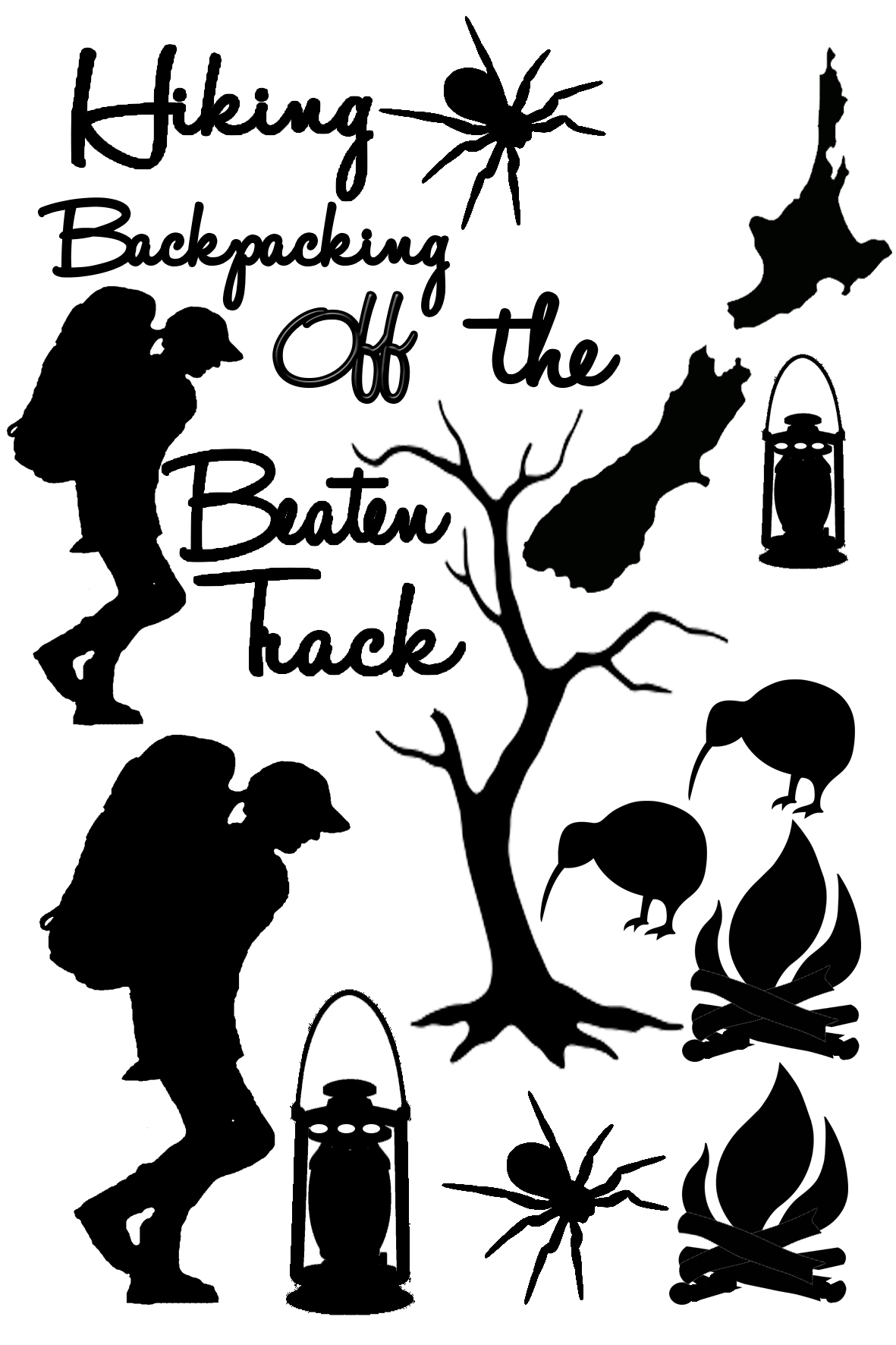 Backpacking Hiking off the beaten trackNew Zealand sold 3\'s