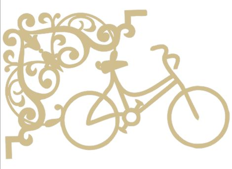 bike,bicycle, vintage  and decorative corner,flourish  110 x 160