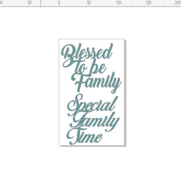 Blessed to be family , special family time ,110 x 18o min buy 3