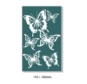 Butterfly Magic, 110 x 180mm min buy 3