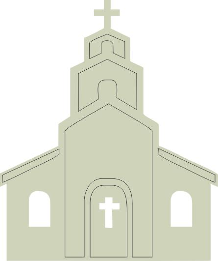 Chapel  38 mm x 45 mm in packs of 10