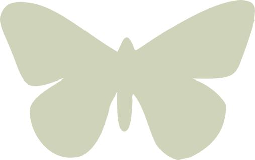 Butterfly Plain pack of 10