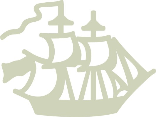 Pirate Boat pack of 10