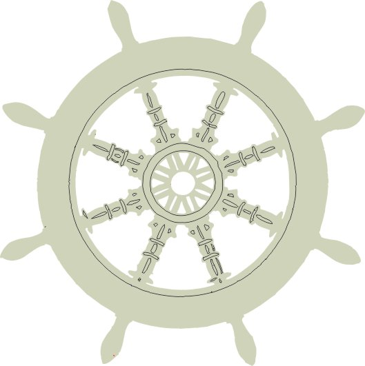 Ship's Wheel sm pack of 10