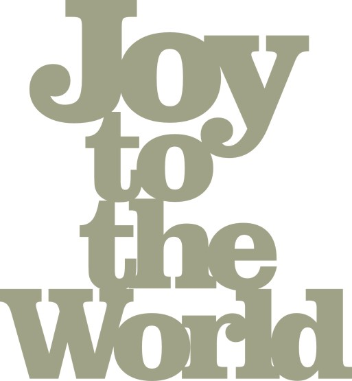 Joy to the World   43mm x 47mm   PACK 10