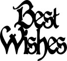 Best wishes pack of 10  44 x 48