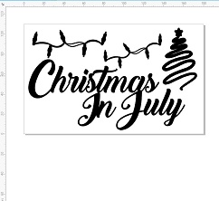 Christmas in July ,lights,tree 110 x 180mm min buy 3