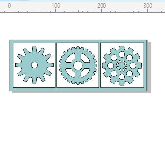 Cog Set 300 x 100mm min buy 3