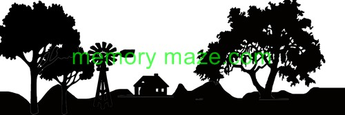 Stencil,mask or template COUNTRY  SCAPE  100X300  Min buy 3