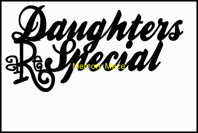 Daughters R Special 133 x 70 Min Buy 3  also available in Bulk p