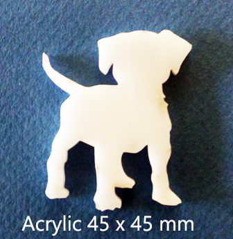Puppy,Dog Acrylic,Acrylic(brooch pack of 4)( Earrings pack of 10