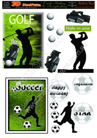 Golf and Soccer