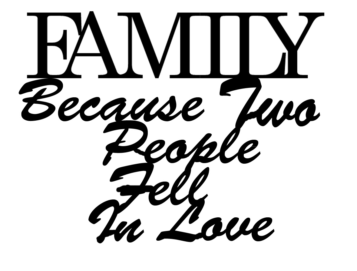 Family where two people fell in love 85 x85 mm buy in 3\'s