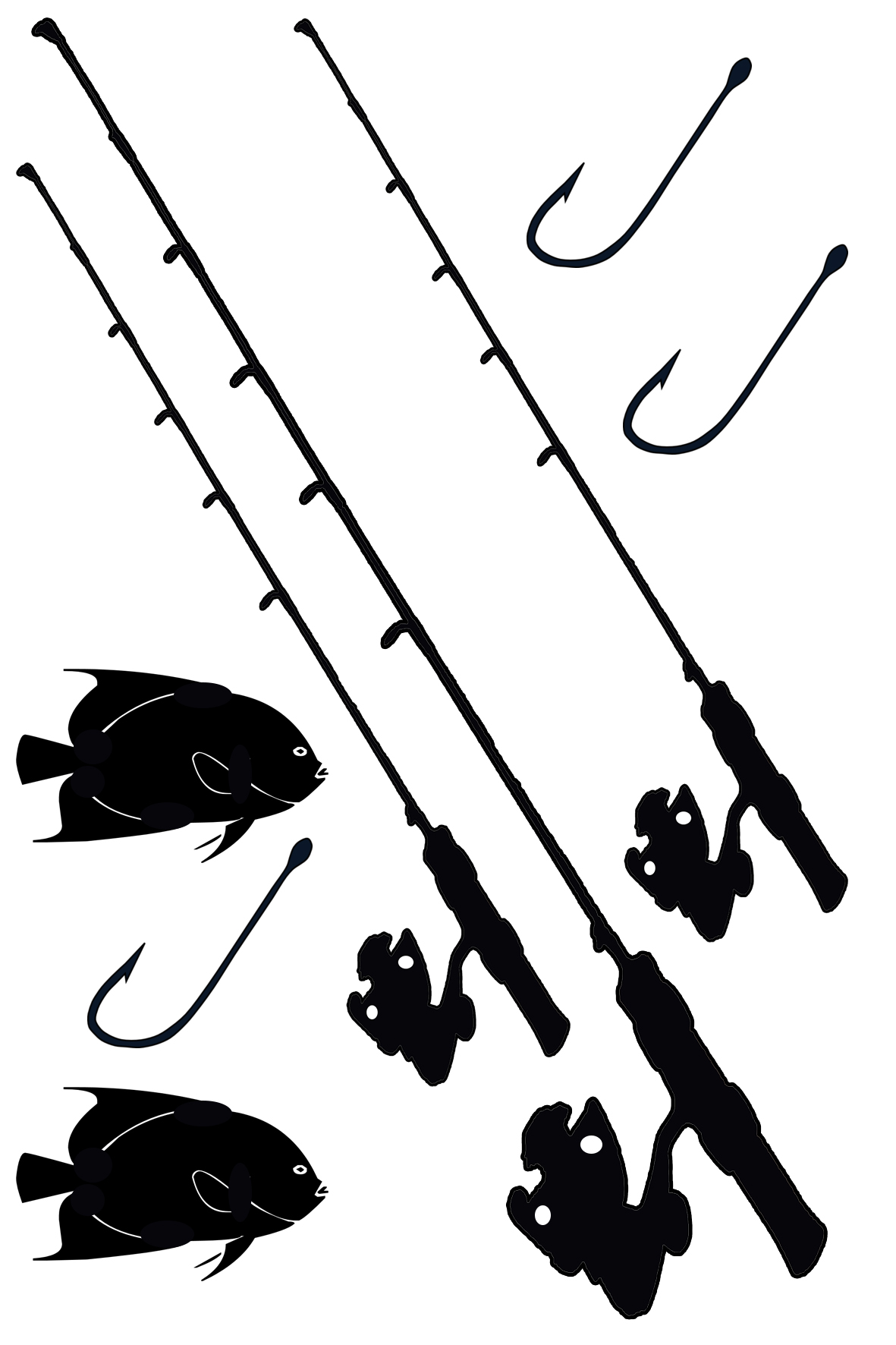 Fishing gear 100 x 120sold 3\'s