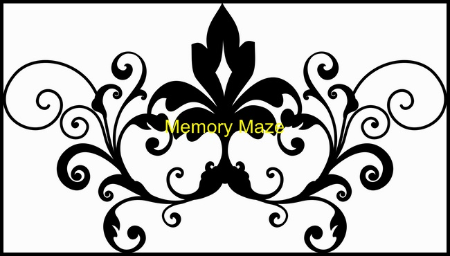 Flourish B 152 x 172  2 pack  Min buy 3 Memory Maze