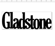 Gladstone 100 x 35 mm pack of 10