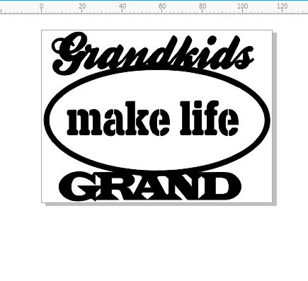 grand kids make life grand 115 x 86 mm min buy 3