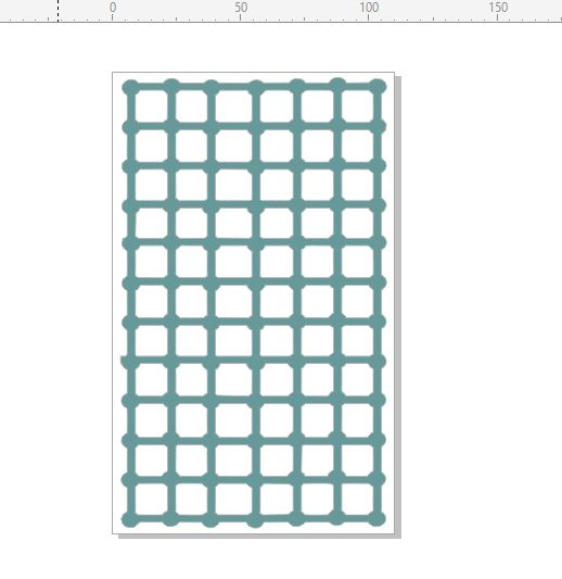 Background Grid  trellis 110 x 180mm  Min buy 3