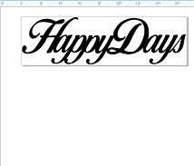 Happy Days 100 x 30 pack of 10