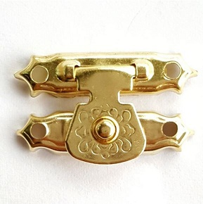 Gold Colored latch  single pack