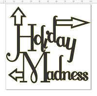 Holiday Madness 100 x 100  pack of 5