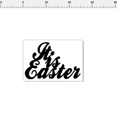 it is easter 48 x 32   pack of 10