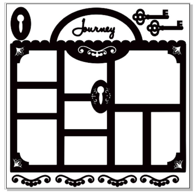 journey port frame 300 x 300 sold in 1\'s