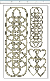junkyard circles hearts 110 x 180mm min buy 3.